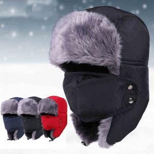 Buy cheap Unisex Outdoor Waterproof Wool Winter Hat For Men Strings Buckle Closure from wholesalers