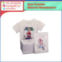 Best A4 light color inkjet heat transfer paper for cotton fabric wholesale