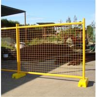 Quality Hot Dipped Galvanized Temporary Fence , 2100 * 2400mm Temporary Security Fencing for sale