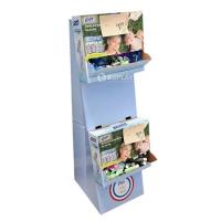 Quality Folding Paper Free Standing Cardboard Displays For P&G , Eco Friendly for sale