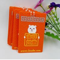 Best Fashionable Orange Silicone Luggage Tags / Travel Hotel Tags For Advertisement Gift wholesale