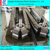 China PE/PVC/PP/PA Cable Protection Single Wall Corrugated Pipe Production Line on sale