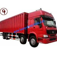Quality China 40 Tons Heavy Duty Cargo Transport Truck 8x4 LHD / RHD Steering Type for sale