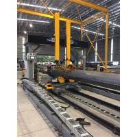 Quality Gantry Positioning H Beam Assembly Machine For Pole Lamp Post Flange Fitting / Welding for sale