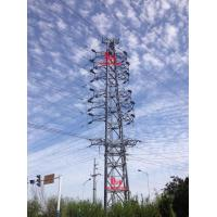 China 110KV angle steel tubular tower on sale