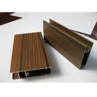 Best black walnut  Wooden Grain Surface Aluminum extruded profiles 6063-T5 alloy wholesale