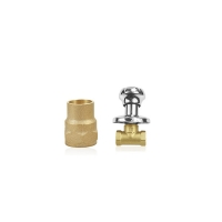 Quality Forged Brass compression  Female Elbow Heat Exchanger Components for sale