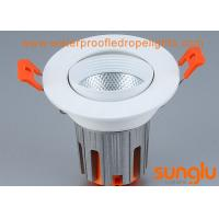 Quality Cool White 20w LED Downlight , Tiltable LED Downlights With Anti Glare System for sale