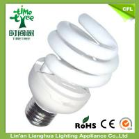 Quality 15w Mixed Powder Energy Conserving Light Bulbs With B22 Lamp Holder for sale