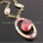 Quality Fashion Vogue Necklace with Crystal Pendant for sale