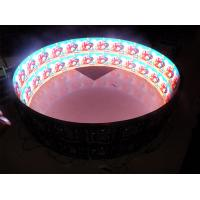 Best Inner Cylinder LED Module Display High Definition , Column Circular led panel module 6mm wholesale
