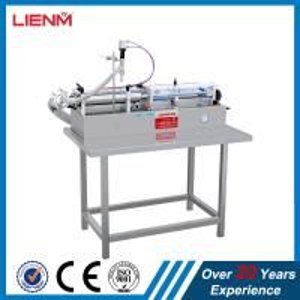 China single head horizontal pneumatic liquid filling machine automatic filling machine Filling Machine,single nozzle filler on sale
