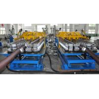 Quality Single Screw Single Wall Corrugated Pipe Machine High Speed Spiral Pipe Making Machine for sale