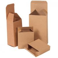 Quality Custom Brown Double Wall Carton Box , Long Cardboard Boxes For Mailing for sale