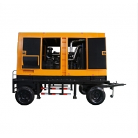 Quality 250kw 380V Trailer Mobile Diesel Generator With Yuchai Engine for sale