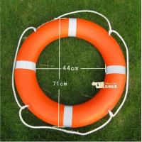 China Orange Plastic Life Buoy Inflatable Boat Accessories with SOLAS 1974/1996 on sale