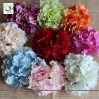 Best UVG FBL01 white artificial flower heads in silk hydrangeas for wedding backdrop decoration wholesale