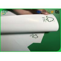 China Super Glossy 180g 200g 250g 300g 350g Two Sides Coated Glossy Art Paper For Printing Clothing Label on sale