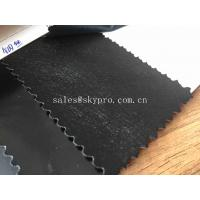 China Home Decoration Upholstery PU Synthetic Leather Fashion Steel Wire Embossed on sale