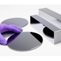 China customized shape plane  Optical Silicon lens window/ Ge Window prism for sale