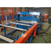 Buy cheap High Quality Corrugated Steel Silo Roll Forming Machine With Screw Hole Punching from wholesalers