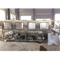 Quality 3.8KW Bottle Washing Filling Capping Machine / 20 Liter Jar Mineral Water Plant for sale