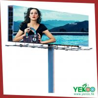 Best outdoor advertising column steel board wholesale