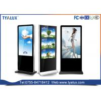 China 49 Inch FHD large digital touch screen signage kiosk on wheels ad lcd media display on sale