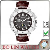 10 Atm Water Resistant Stainless Steel Sports Watches For Boys Super Luminous