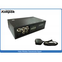 Video and Two-way Communication COFDM Wireless Video Transmitter 450km/h High-speed for sale