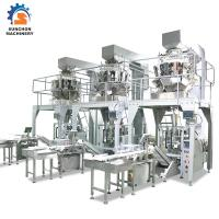 Quality Vertical Form Fill Seal Packing Machine / Omron PLC Food Bag Former for sale