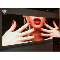 Quality Wall Mounted hd led screen , P1.875mm led backlit display Smart Installation Rental for sale