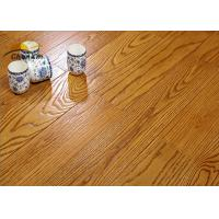 China Archaize Red Oak Solid Wood Flooring For Living Room Emboss Pattern on sale