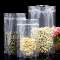 Quality China factory Stocking packaging bag for snack food plastic zipper pouch stand up food bag for sale
