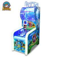 Quality Ball Shooting Ticket Redemption Game Machine Colorful LED Light With Music for sale