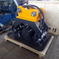 Quality Small Stone Hydraulic Compactors For Excavators , Horizon Compaction Hydraulic Plate Compactor for sale