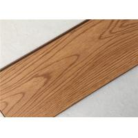 China Durable Clearance Laminate Flooring , DIY Matte Solid Oak Floor Boards on sale