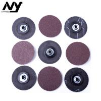 China 2 50MM   Roloc Abrasive Disc 60# 80# 3M 361F Brown Color Rust Weld Removal on sale