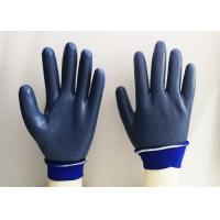 Quality Foam Eva Latex Dipped Gloves , Latex Rubber Gloves Breathable Knitting for sale