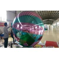 Quality Giant Colorful Inflatable Mirror Ball For Club Decoration CE Appoval for sale