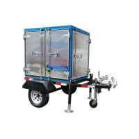 Quality Single Axle 2 Car Wheels Type Trailer Mounted Insulating Oil Filtraiton Machine 3000LPH for sale