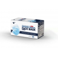 Buy cheap Three Layer Earloop Style Disposable Medical Face Mask from wholesalers