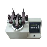 China DIN-53754 Digital Display Taber Abrasion Testing Machine For Suitcases / Carpets on sale