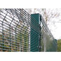 Quality 900-2500mm Height Prison Wire Mesh Security Fencing PVC Coated 4ft 8ft for sale