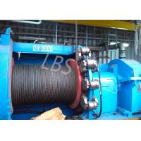 Quality High Speed Electric Winch Machine / Electric Power Winch For Platform And Emergency Lifting for sale