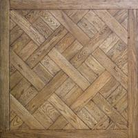 Quality White washed Oak Versailles wooden Parquet flooring for sale