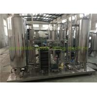 Quality Industrial CO2 Gas Carbonated Drink Automatic Drink Mixing Machine With 3000L Three Tanks for sale