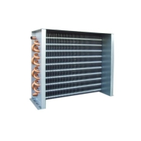 Quality Hydrophilic Foil 2HP Pin Fin Type Heat Exchanger Grooved Design for sale