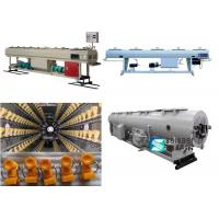 Quality PE PP PPR PVC Downstream Extrusion Equipment 304 Stainless Steel Tank Material for sale