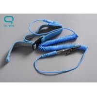 China Washable Clean Room Accessories Elastic ESD Wrist Strap For Static Control Equipment on sale